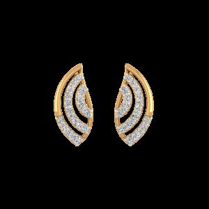 On Your Luck Diamond Stud Earrings