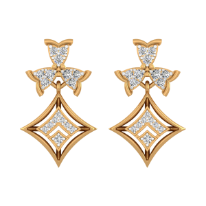The Spectakʊlar Diamond Drop Earrings
