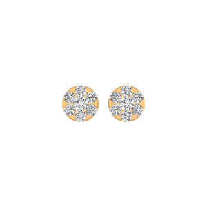 Starry Lights Diamond Stud Earrings