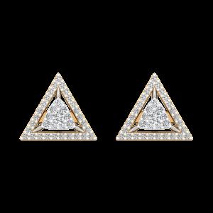 The Subtle Sign Diamond Stud Earrings