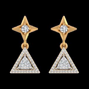 Endless Stars Diamond Drop Earrings