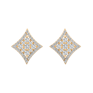 Sway Away Diamond Stud Earrings