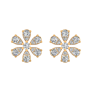 The Tantalizing Diamond Stud Earrings