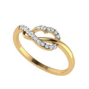 The True Swirls Designer Diamond Ring
