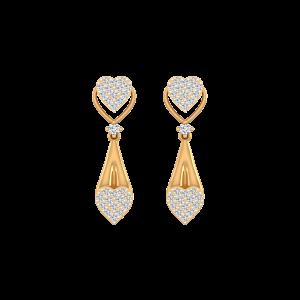 Hold Me Forever Diamond Stud Earrings