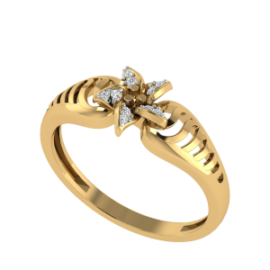 Own The Destiny Floral Diamond Ring