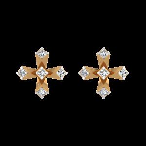 The Spot Lights Diamond Stud Earrings