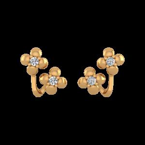 Two of Us Diamond Stud Earrings