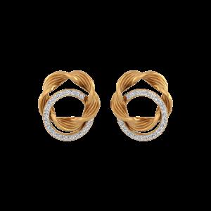 Woven Bond Stud Earrings