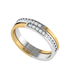 Love Ripples Half Eternity Diamond Ring