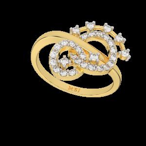 The Infinite Links Designer Diamond Ring