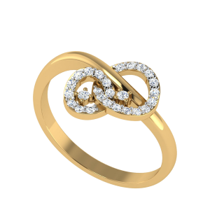 The Infinite Links Designer Diamond Ring