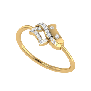 Stop A Moment Designer Diamond Ring