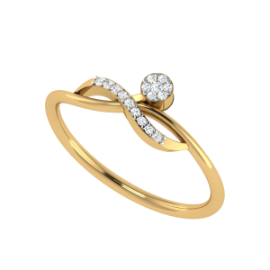Glorious Glamour Designer Diamond Ring