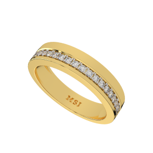 The Grace Gold Diamond Men`s Ring