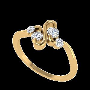 The Venomous Touch Diamond Ring
