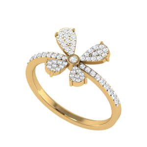 The Flying Soul Butterfly Diamond Ring