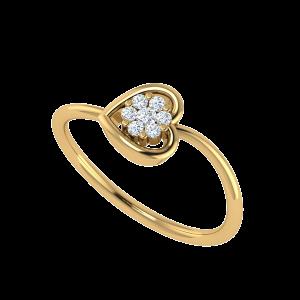 The Heart Mashup Diamond Ring