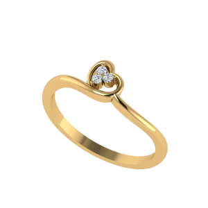 The Ace of Heart Diamond Ring