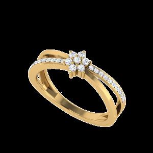 Clôture De Fleurs Diamond Ring