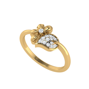 The Touch Of Nature Diamond Ring