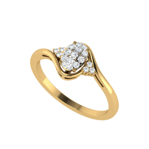 The Shimmer Gathering Diamond Ring
