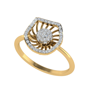 L' Romantique Designer Diamond Ring