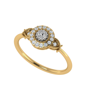 L' Glimpse Designer Diamond Ring