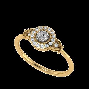L' Glimpse Designer Diamond Ring