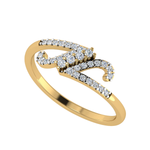 La Fuente Designer Diamond Ring