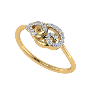 The Paisley Play Designer Diamond Ring