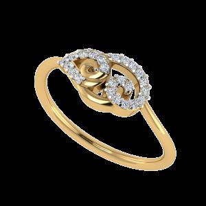 The Paisley Play Designer Diamond Ring