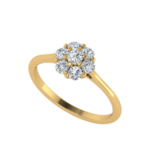 You Are Blooming Floral Diamond Ring