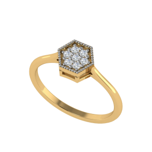Beauty Hexactly! Diamond Ring