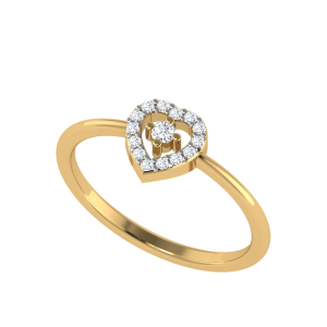 The Heart & Soul Designer Diamond Ring