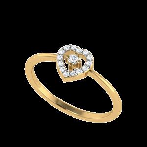 The Heart & Soul Designer Diamond Ring
