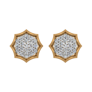 The Extra Fame Gold Diamond Earrings