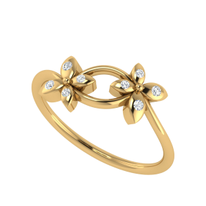 Floral Mania Diamond Ring