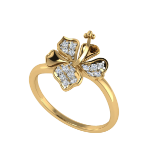 The Grandeur Blossom Diamond Ring