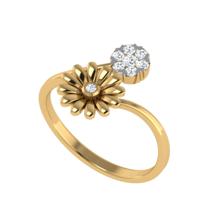 The Daisies Dreams Designer Diamond Ring