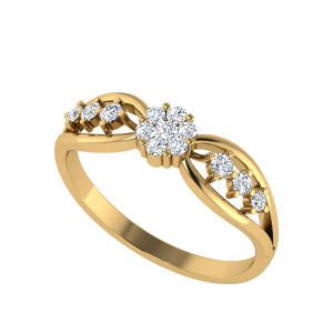 The Wings Of Desire Diamond Ring