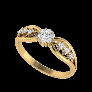 The Wings Of Desire Diamond Ring