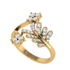 Life Comes To Life Designer Diamond Ring