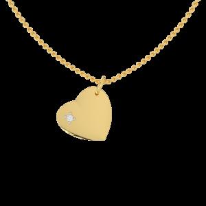 Cute Heart Diamond Kids Pendant