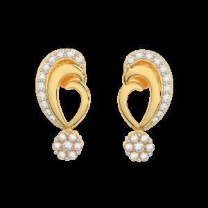 The Fantastic Gold Diamond Earrings