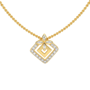 The Swag Gold Diamond Pendant