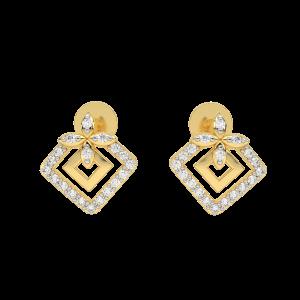 The Swag Gold Diamond Earrings