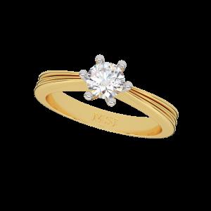 The Unique Engagement Solitaire Ring