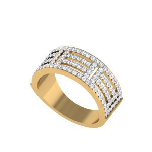 The Linear Leisure Bespoke Diamond Ring