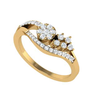 Blossom Is Best Floral Diamond Ring